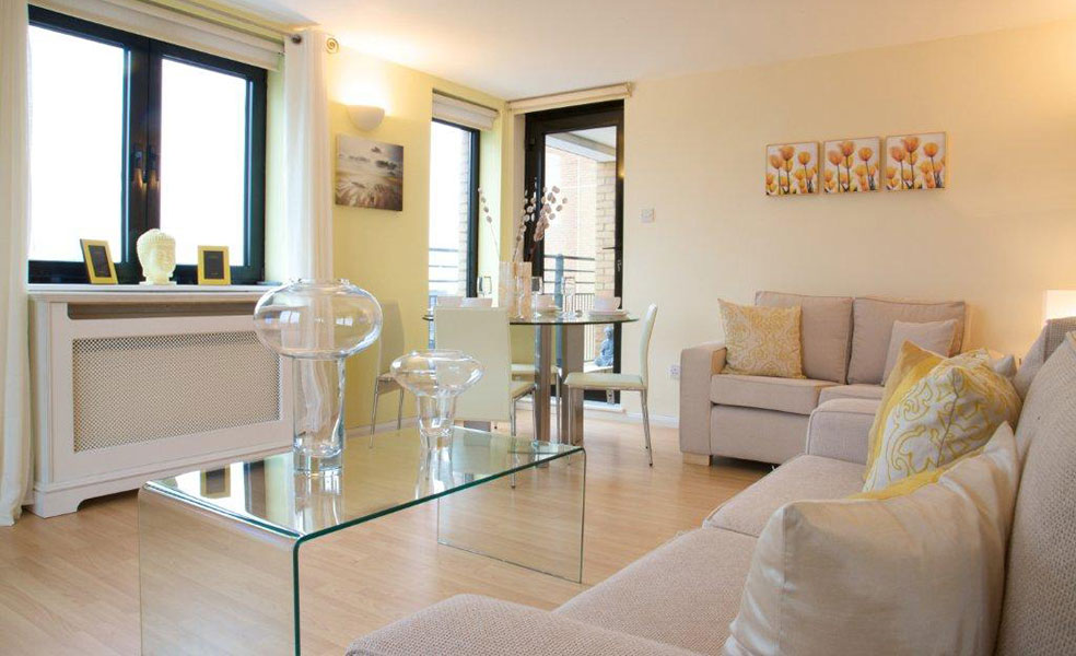 South Kensington Living Room