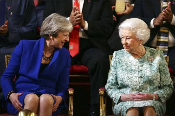 The Queen Head of The Commonwealth Ceremony in London