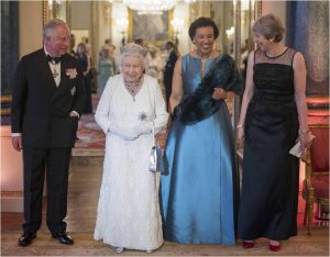 The Queen hosts Commonwealth Diaspora Reception at Buckingham Palace