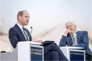 Prince William interviews Sir David Attenborough in Davos