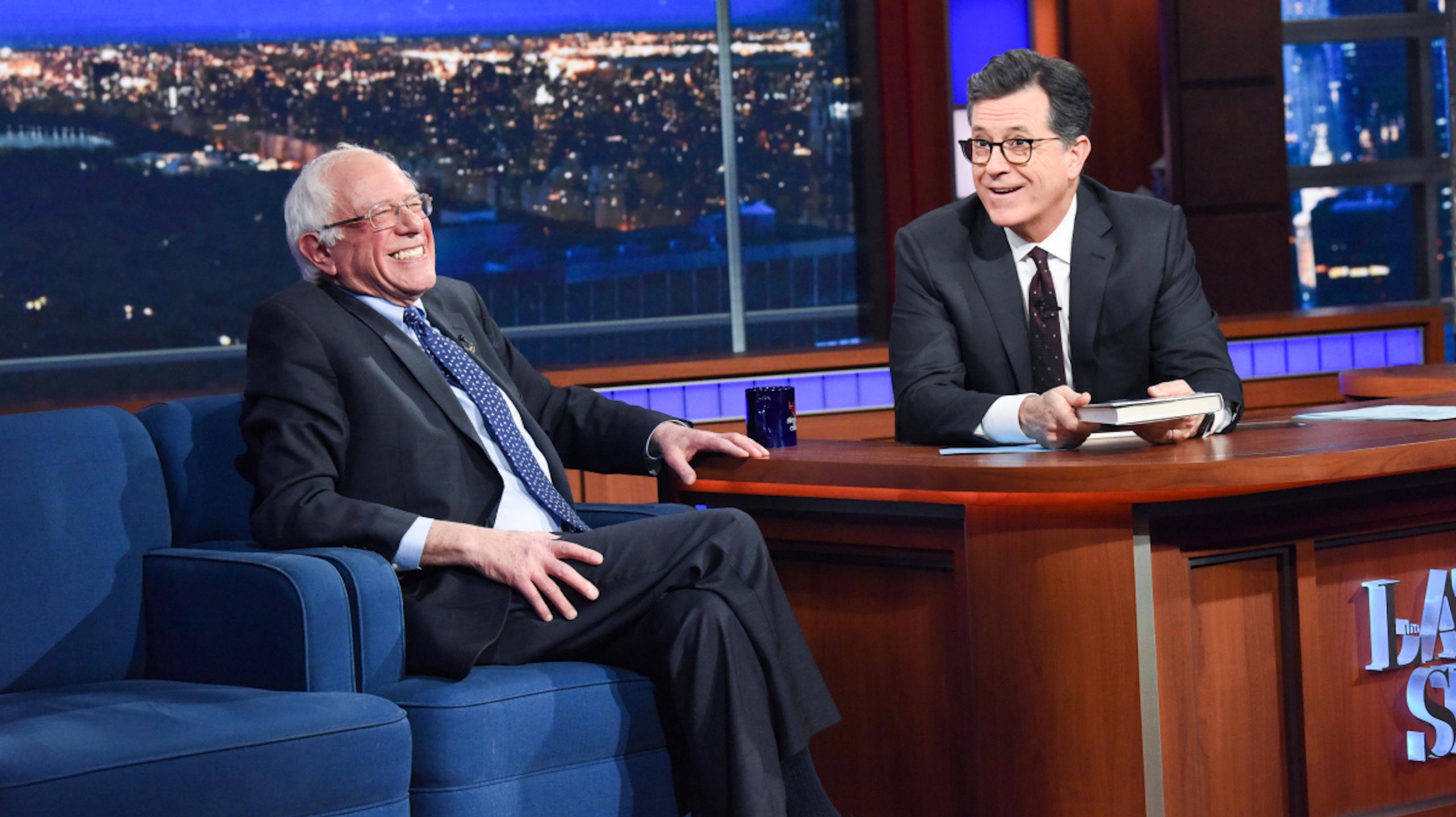 Bernie Sanders Assesses The 2020 Presidential Field