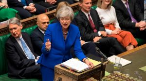 Parliament debates and votes on May's Brexit deal