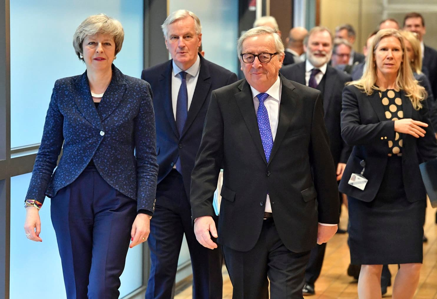 The UK Prime Minister Theresa May is heading to Brussels today for Brexit talks with the EU's Jean-Claude Juncker…