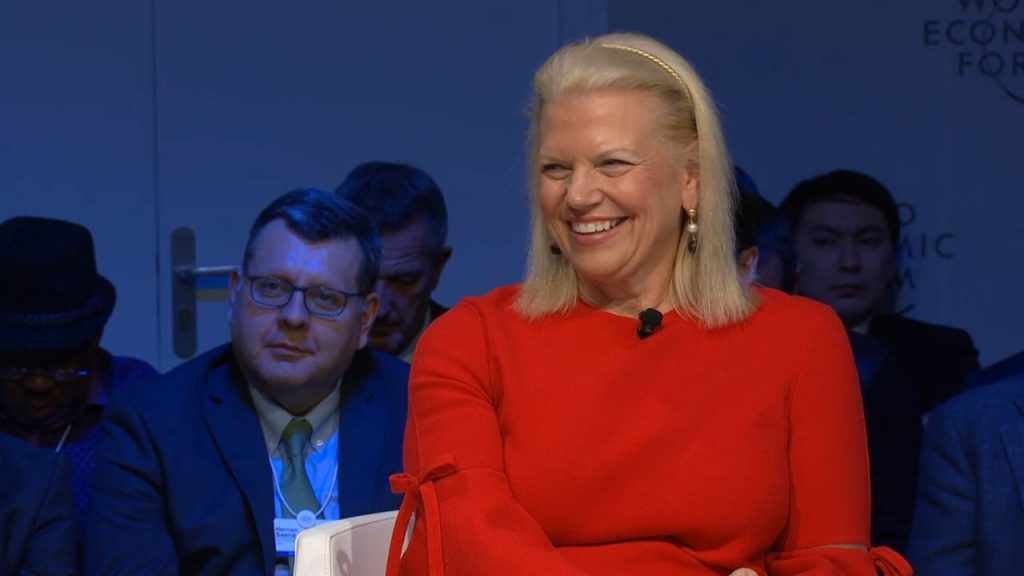 The Fourth Industrial Revolution Panel at Davos 2019