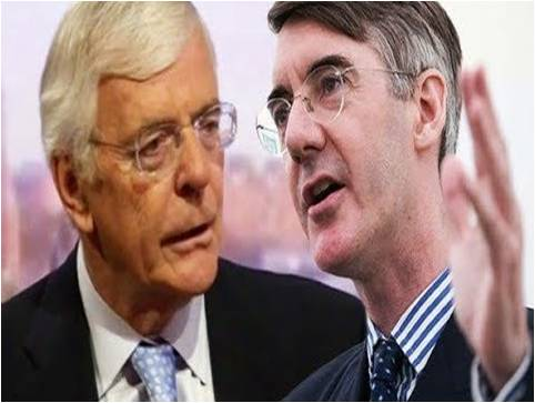 John Major Calls Brexit a Disaster, Rees-Mogg SHUTS Him Up