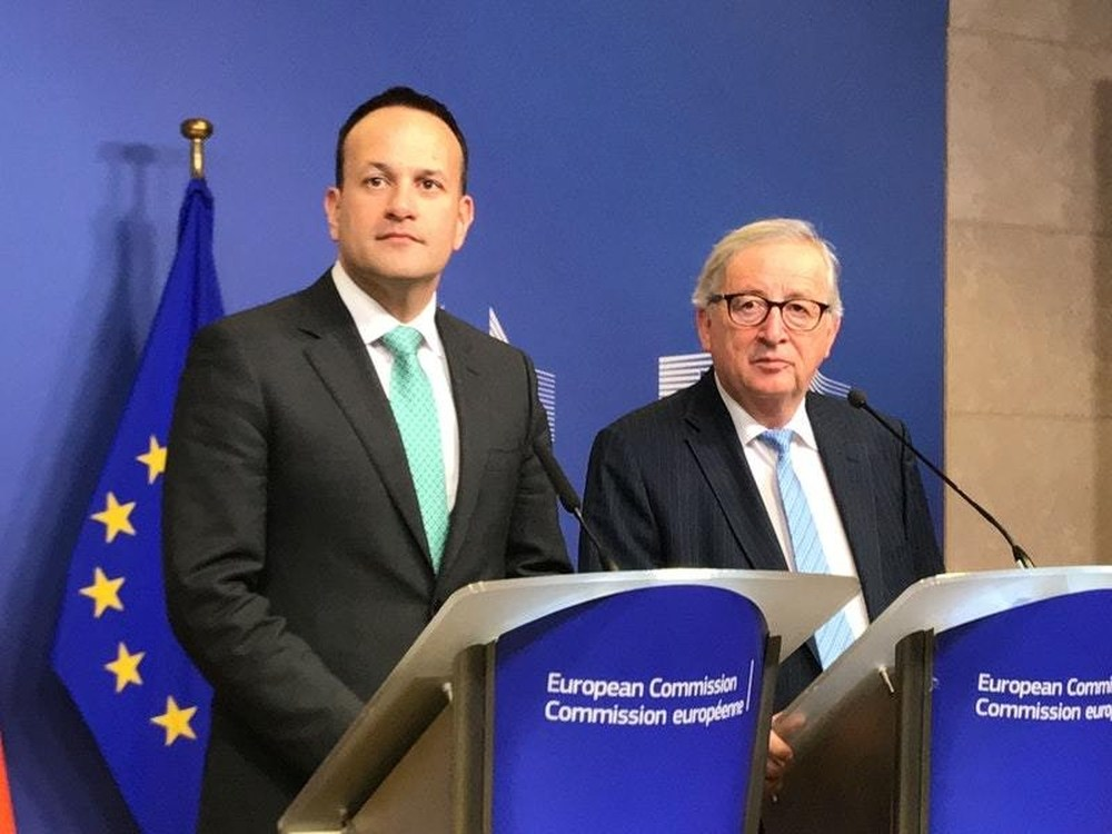 Juncker stands by Ireland and 'vital' backstop