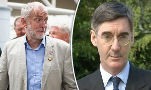 Jacob Rees-Mogg vs Jeremy Corbyn Biggest diss ever