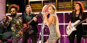 Lady Gaga Takes Over The Late Late Show