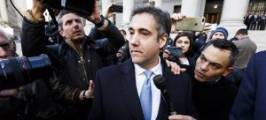 Michael Cohen testifies Trump broke the law during testimony