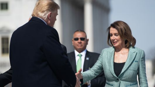President Trump, Nancy Pelosi attend Friends of Ireland luncheon