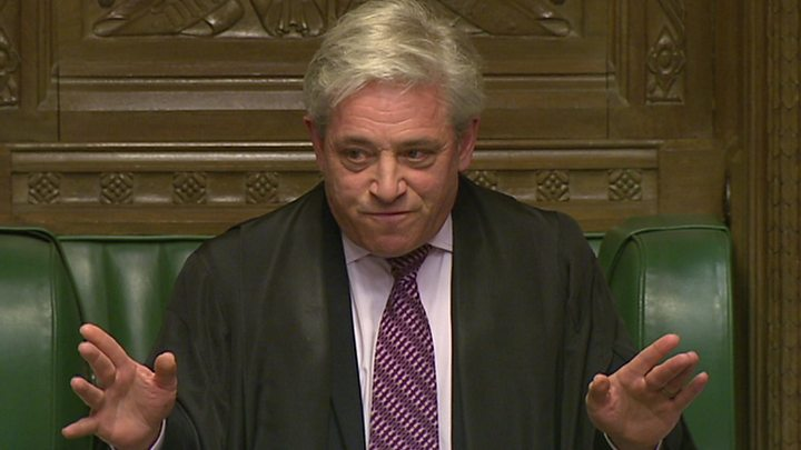 BREXIT CHAOS: John Bercow blocks Theresa May's third vote, Anna Soubry asks Mister Speaker's advice