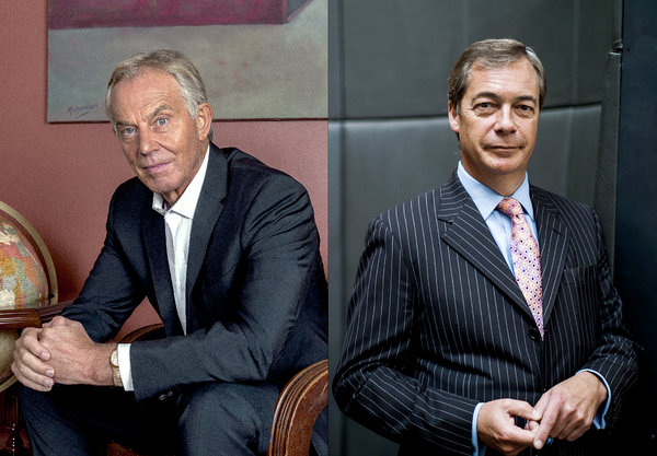 Nigel Farage: 'Tony Blair is one of the most hated living figures'