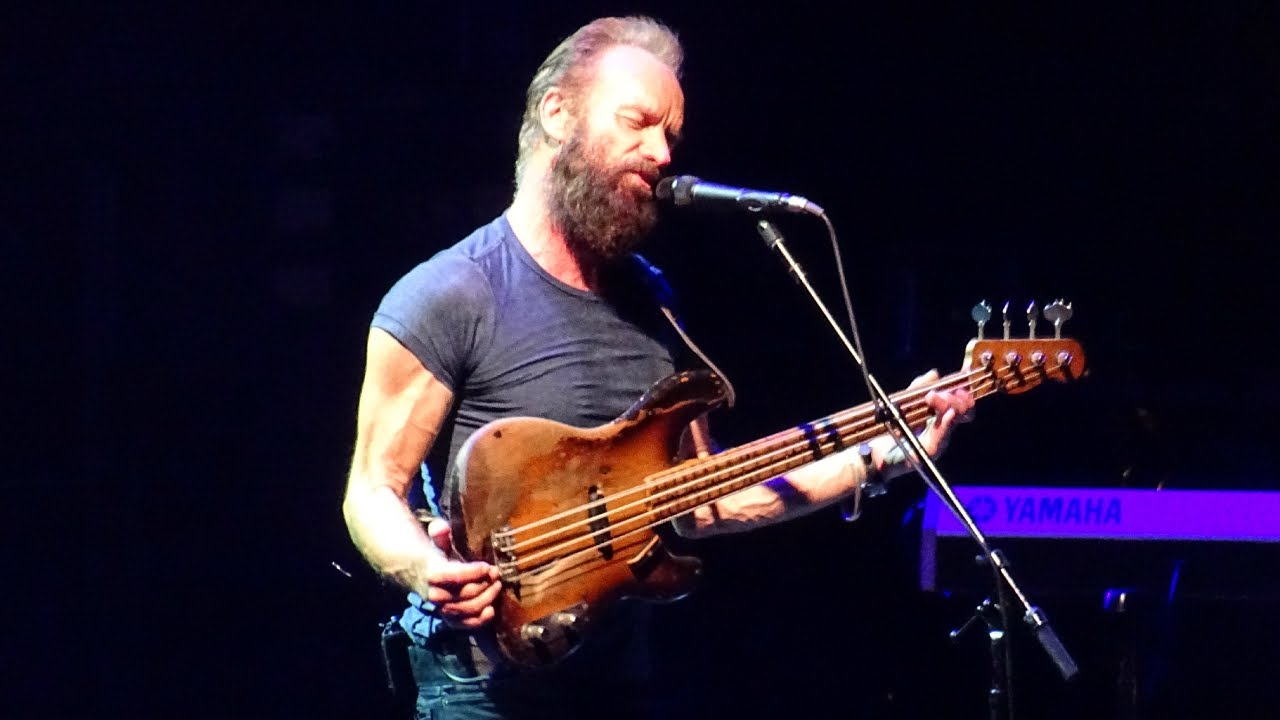 Sting Live in South America 2011 (Englishman in New York)