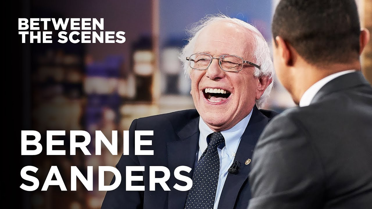 Between the Scenes – Guest Edition: Bernie Sanders | The Daily Show