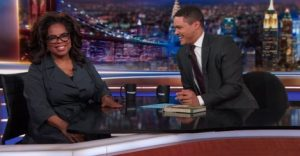 Oprah Winfrey on The Daily Show with Trevor Noah
