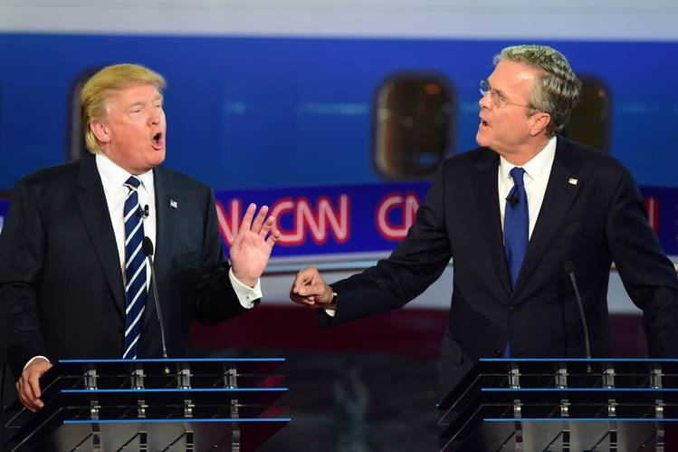 Donald Trump vs. Jeb Bush – Presidential Debate Highlights