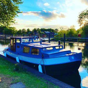 Classic Dutch Barge   Bourne End Marina, Cookham