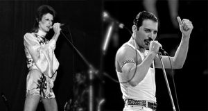 David Bowie & Freddie Mercury
