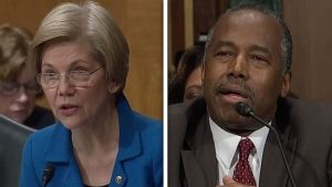 Ben Carson tries to get 'Feisty' when Grill by Elizabeth Warren