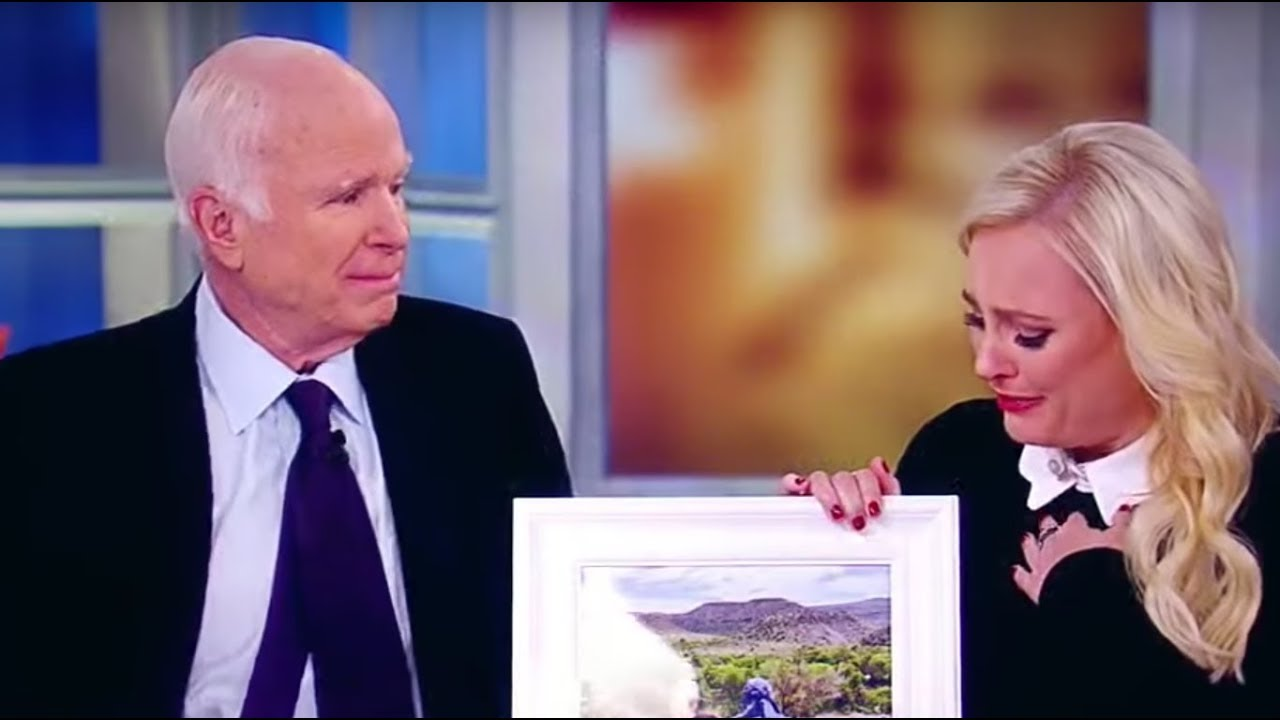 McCain: Laughs Hysterically When Ask If He Was Scared Of TRUMP – The View