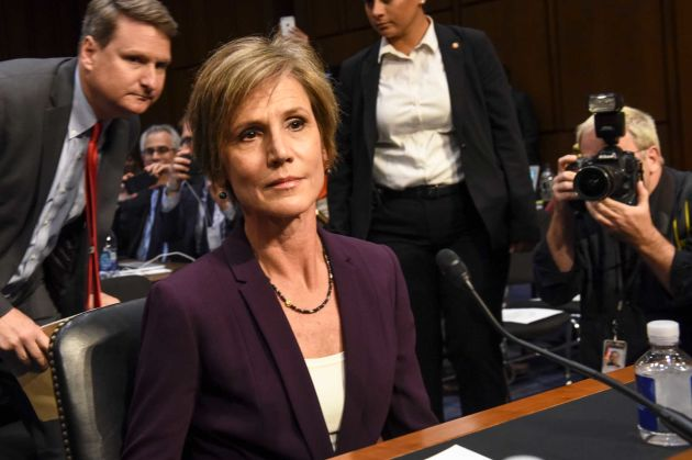 Sally Yates Details Warning The White House About Michael Flynn