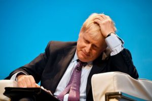 Boris Johnson refuses to answer questions about 'row with partner'