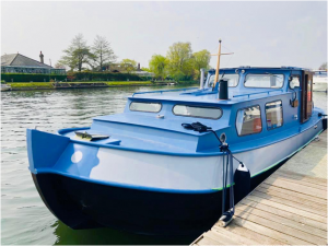 Classic Dutch Barge | Bourne End Marina, Cookham