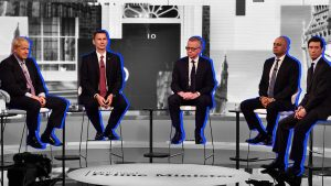 Five things from the Tory leadership debate