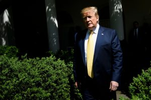Trump says he assumes his 'financial statement' will be released 'at some point'