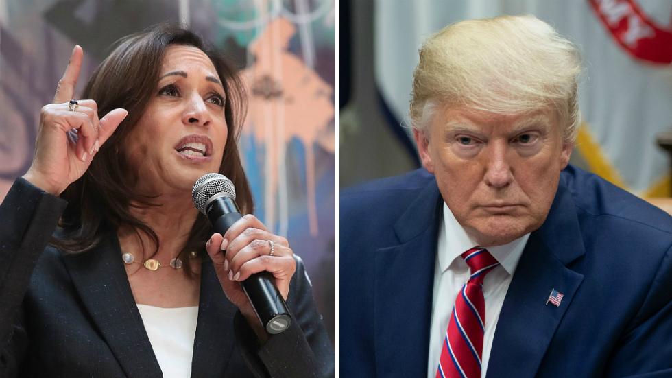 Trump slams Sen. Kamala Harris for saying if elected she would prosecute him