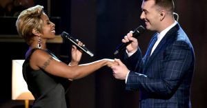 Sam Smith – Stay With Me (Live) ft. Mary J. Blige
