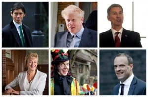 Another Johnson no-show as Tory leadership hopefuls face journalists