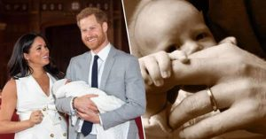 Meghan Markle and Prince Harry on the birth of their new baby boy – Archie