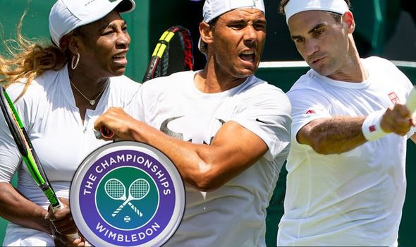 Wimbledon results today LIVE Andy Murray and Serena Williams in action after Djokovic, Federer and Nadal