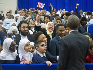 President Obama Visits Children's National