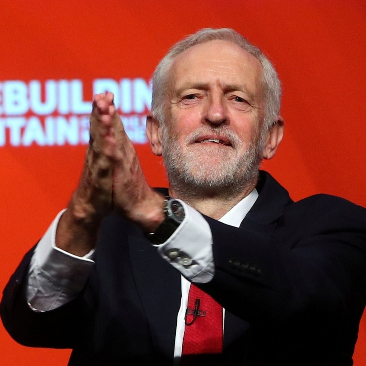 Corbyn Says No-Deal Brexit Would Be a Disaster for U.K.