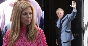 Will Carrie Symonds Move Into Downing Street With Boris Johnson