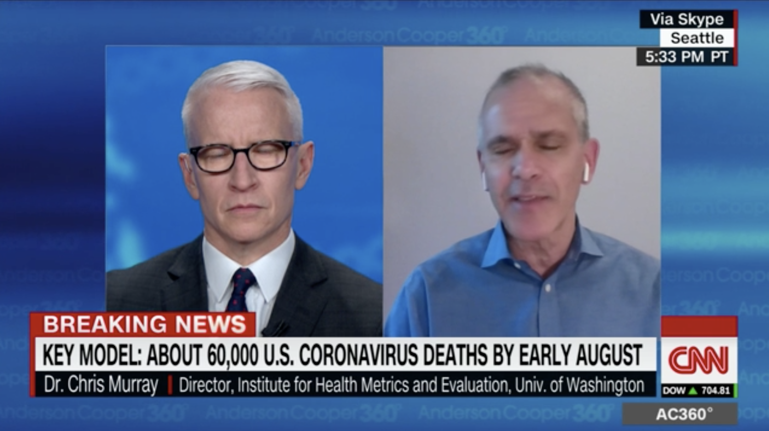 On CNN Health Doctor predicts when states will be safe to reopen