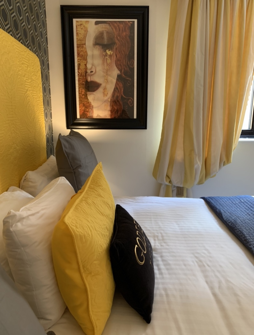South Kensington Apartment Bedroom