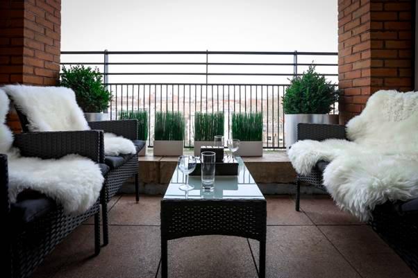South Kensington Apartment Balcony
